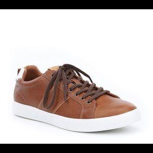 ALDO Lovericia Men's Brown Leather Sneaker 7.5